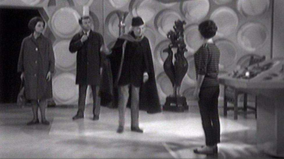 An Unearthly Child - TARDIS interior