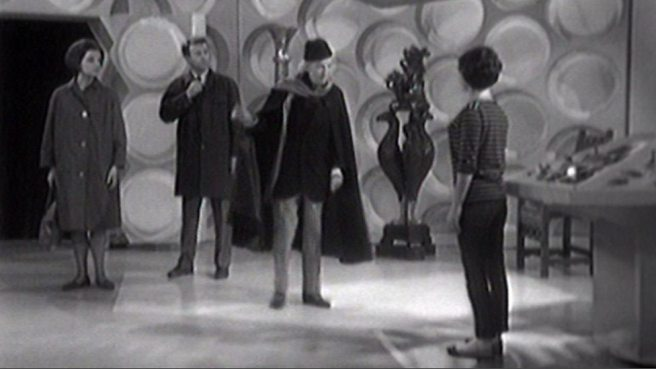 An Unearthly Child - TARDIS interior