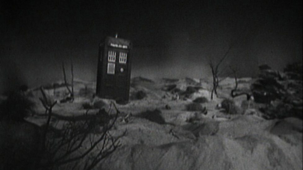 An Unearthly Child - TARDIS