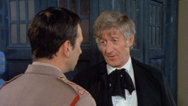 Spearhead from Space - The Doctor and the Brigadier