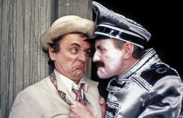 Seventh Doctor and Chief Caretaker