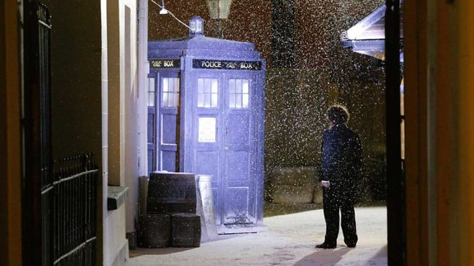 dickens and tardis