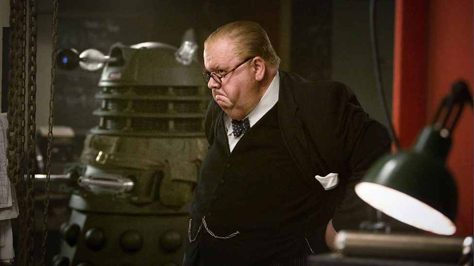 churchill and the dalek