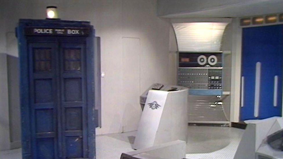 Revenge of the Cybermen TARDIS