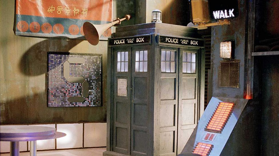 The Long Game TARDIS