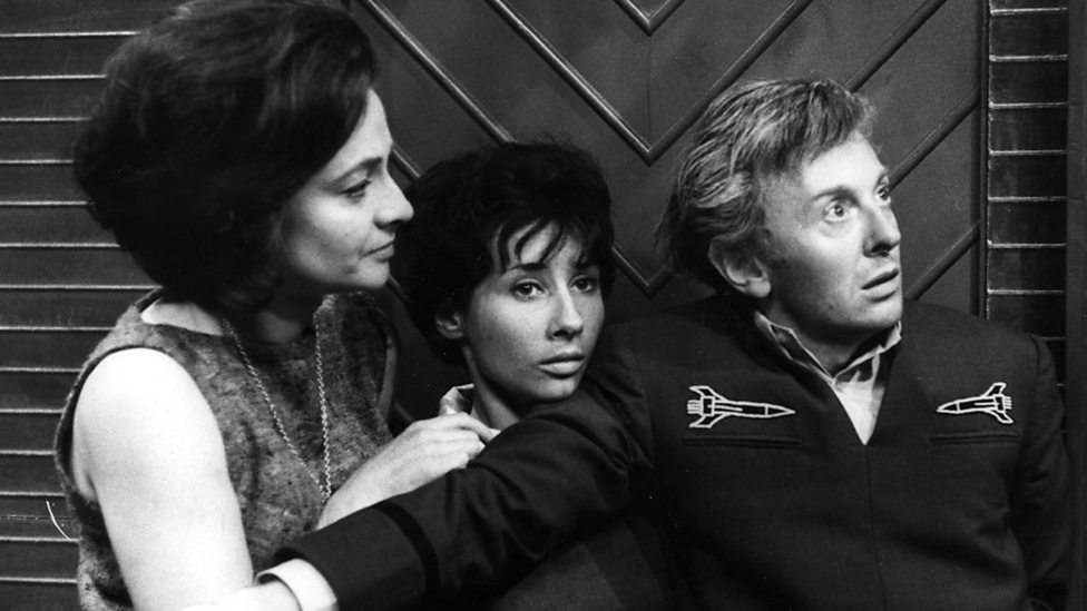 The Sensorites Barbara, Susan and John