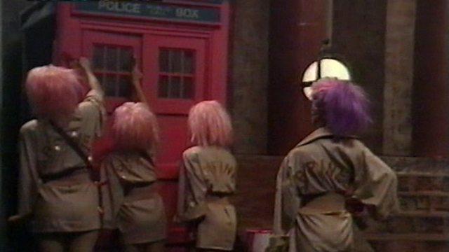 THP Pink TARDIS