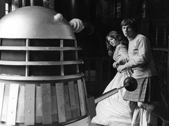 Evil of the Daleks - Dalek Jamie Victoria