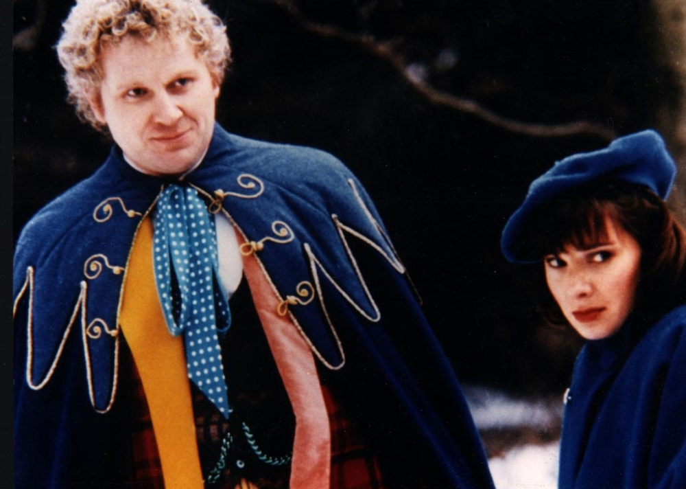 Revelation of the Daleks - Doctor and Peri