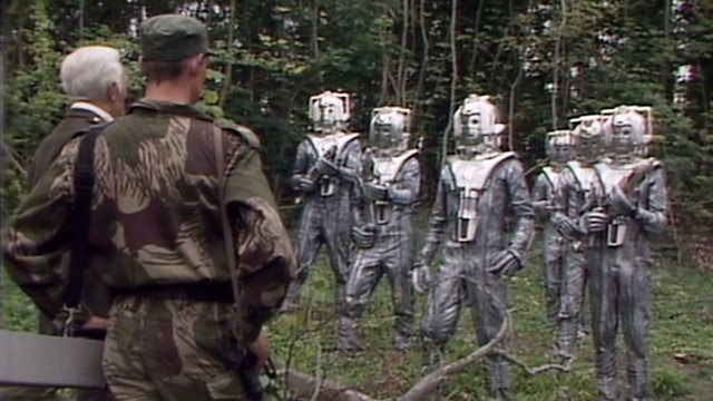 Silver Nemesis De Flores and the Cybermen