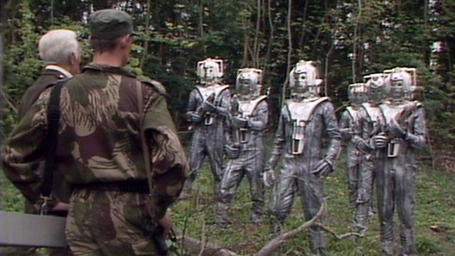 Silver Nemesis De Flores and the Cybermen
